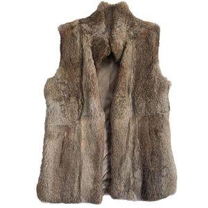 Authentic Michael Kors rabbit fur